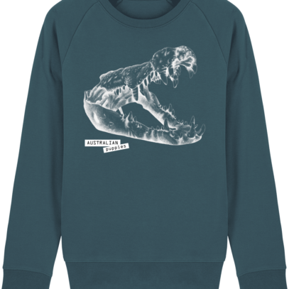 Sweat Shirt Crocodile - Australian Puppies - Stargazer - Face