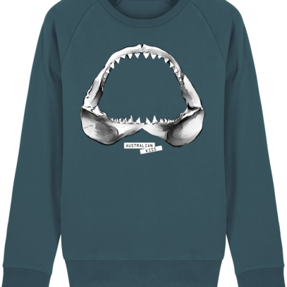 Sweat Shirt Requin / Shark - Australian Kiss - Stargazer - Face