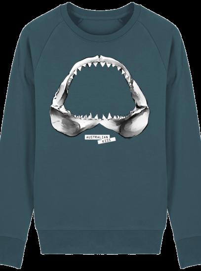 Sweat Shirt Requin / Shark - Australian Kiss - Stargazer - Face