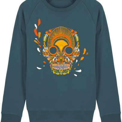 Sweat Shirt Breton - Breizh Skull - La Calavera Bretaña - Stargazer - Face