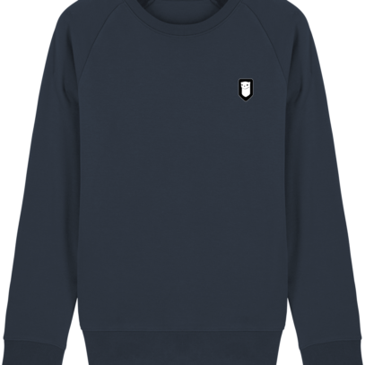 Sweat Shirt Breton – Hermine Bretonne brodée - French Navy - Face