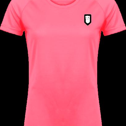 T-shirt Sport Hermine Bretonne - Fluorescent Pink - Plexus