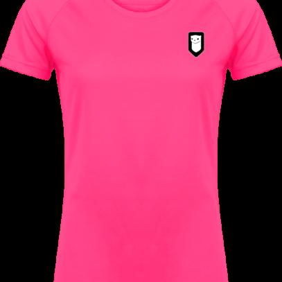 T-shirt Sport Hermine Bretonne - Fuchsia - Plexus