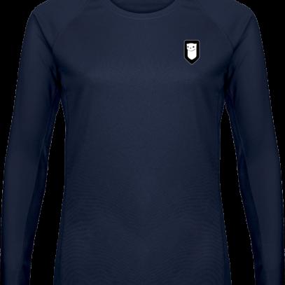 T-shirt Sport Manches Longues Hermine Bretonne - Navy - Plexus