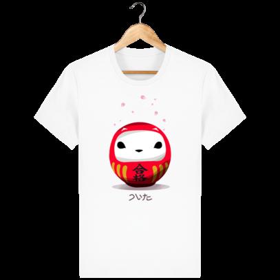 T Shirt Daruma Hermine Bretonne - White - Face