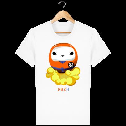 T Shirt DBZH  - Le Dragon Ball Z Breton - White - Face
