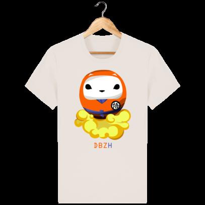 T Shirt DBZH  - Le Dragon Ball Z Breton - Off White - Face