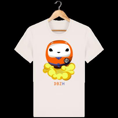 T Shirt DBZH  - Le Dragon Ball Z Breton - Vintage White - Face