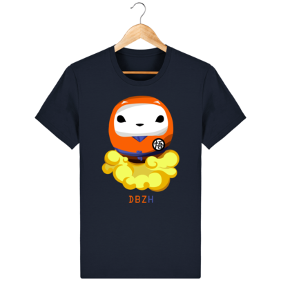 T Shirt DBZH  - Le Dragon Ball Z Breton - French Navy - Face