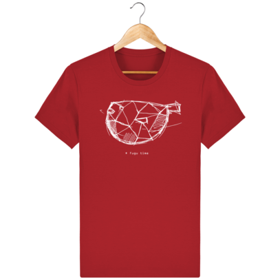 T Shirt Japon - Fugu time - Red - Face