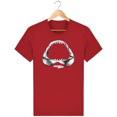 T Shirt Australie Requin / Shark - Australian Kiss - Red - Face