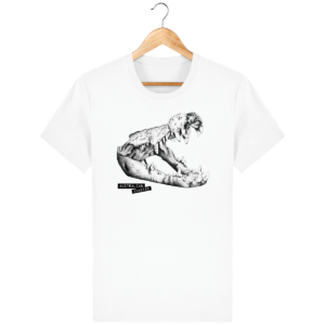 T Shirt Australie Crocodile - Australian Puppies - White - Face