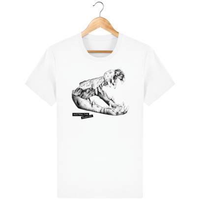 T Shirt Australie Crocodile - Australian Puppies - White - Face