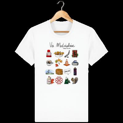 T Shirt Canada - Vie Montréalaise - Montréal way of life
