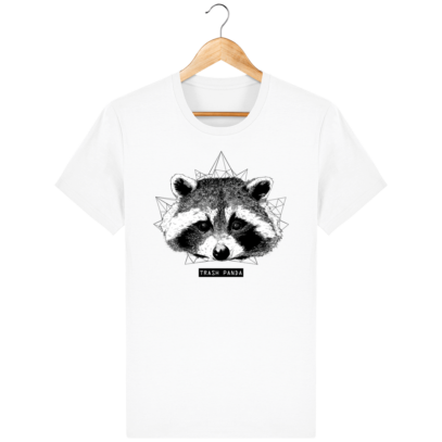 T Shirt Canada - Raton Laveur/Racoon - Trash Panda - White - Face