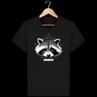T Shirt Canada - Raton Laveur/Racoon - Trash Panda - Black - Face