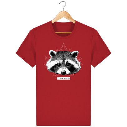 T Shirt Canada - Raton Laveur/Racoon - Trash Panda - Red - Face