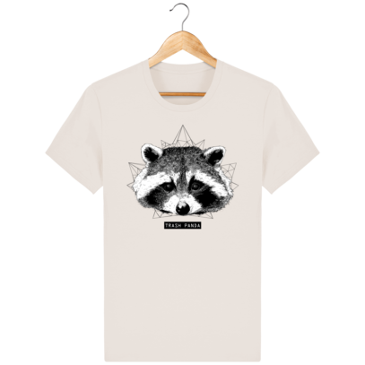 T Shirt Canada - Raton Laveur/Racoon - Trash Panda - Off White - Face