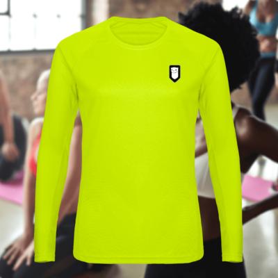 T-Shirt sport ML Hermine Bretonne Logo