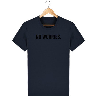 T Shirt 100% coton Australie - No worries - French Navy - Face