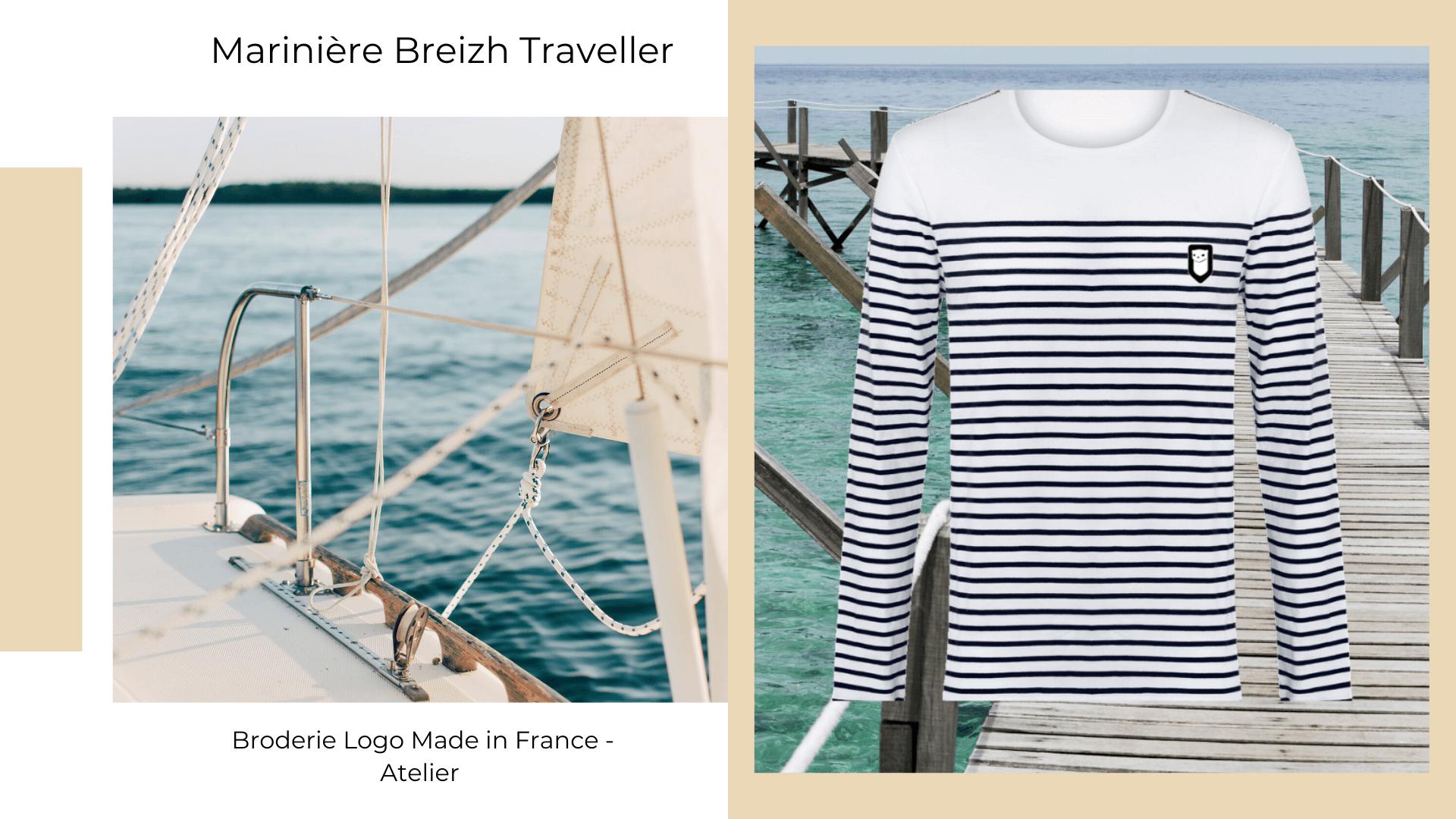 Breizh Traveller marque éthique créateur breton. Vêtements coton bio