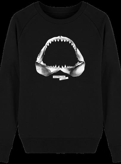 Sweat Femme éthique Shark - Black - Face