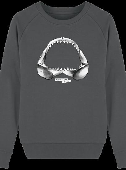 Sweat Femme éthique Shark - Anthracite - Face