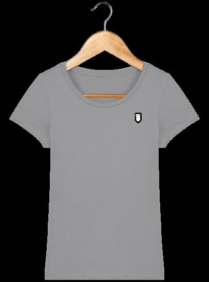 T-Shirt Femme Bretonne Broderie Breizh Traveller - Opal - Face