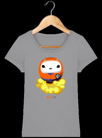T-Shirt Femme éthique Dragon BZH - Opal - Face