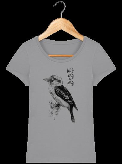 T-Shirt Femme éthique Kookaburra - Opal - Face