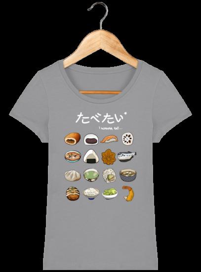 T-Shirt Femme éthique Gastronomie Japonaise - Opal - Face