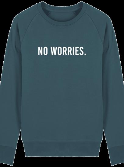 Sweat Homme éthique No Worries - Stargazer - Face