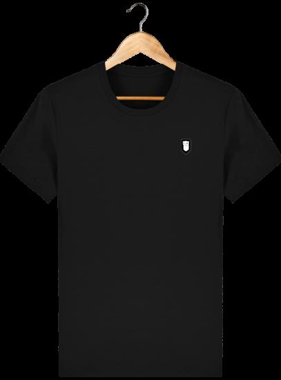 T-Shirt Homme Breton Broderie Breizh Traveller - Black - Face