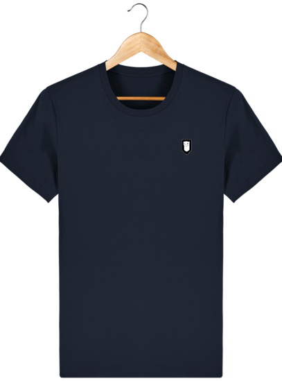 T-Shirt Homme Breton Broderie Breizh Traveller - French Navy - Face