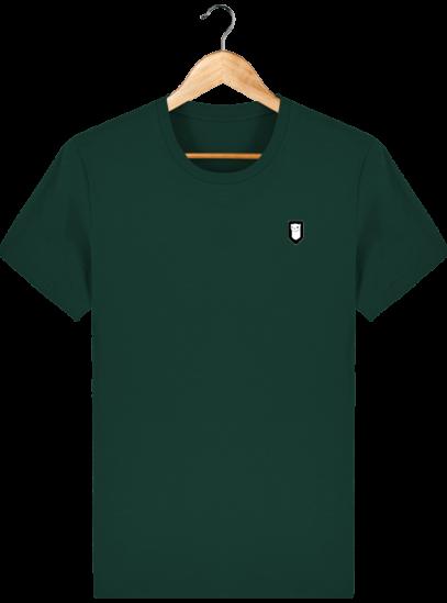 T-Shirt Homme Breton Broderie Breizh Traveller - Glazed Green - Face