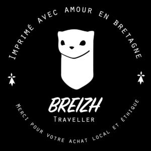 Sticker colis Breizh Traveller