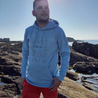 Sweat breton homme ethique